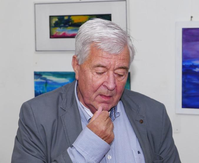 Karl Welbers weiß über Poppe Folkerts eine Menge zu berichten Foto: Hans-Peter Schmitz